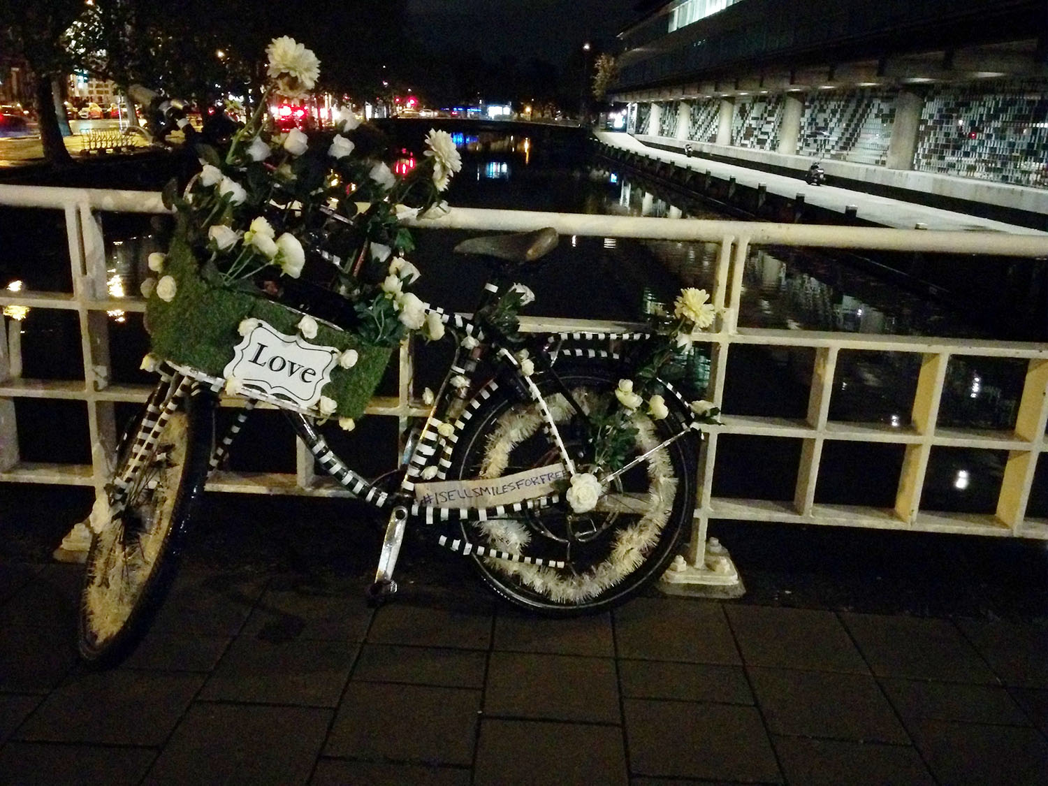 Amsterdam Love Bicycle,